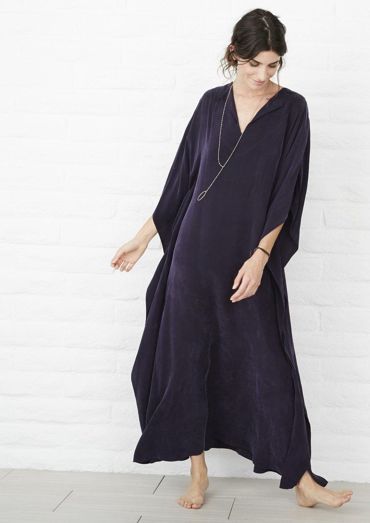 Eco friendly caftans and tunics inspired by the ocean, made on main street. Ethically sourced and locally made in Los Angeles. If you were to buy just one caftan, this is the one. Our best seller by f