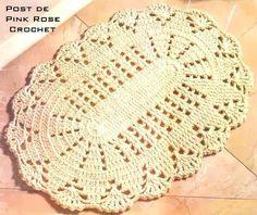 Eliza Croche: tapete oval