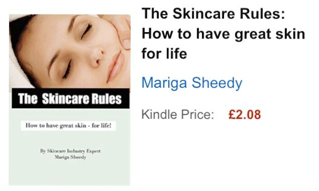 Have you read Mariga's e-book yet? 'The Skincare Rules' is packed full of simple, easy to implement tips that will help to get you great skin - for life!