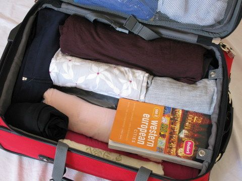 Air travel packing tips.  10 days in a carry-on.  Did it recently but had to put toiletries in husband's suitcase. :)