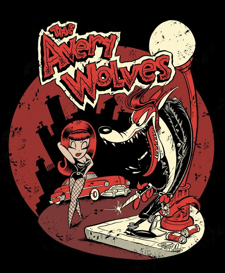 Shawn Dickinson - The Tex Avery Wolves