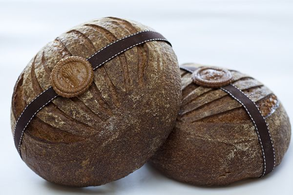 Whole wheat bread loaves made by our Baking and Pastry Arts students at the Apple Pie Bakery Café.