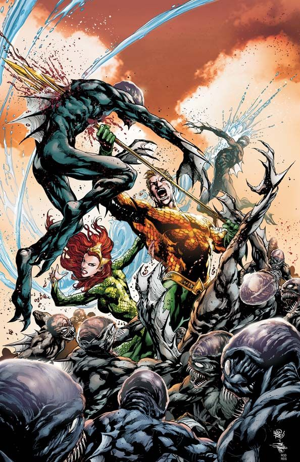 I don't know how, but Geoff Johns has made Aquaman my current favorite series.
