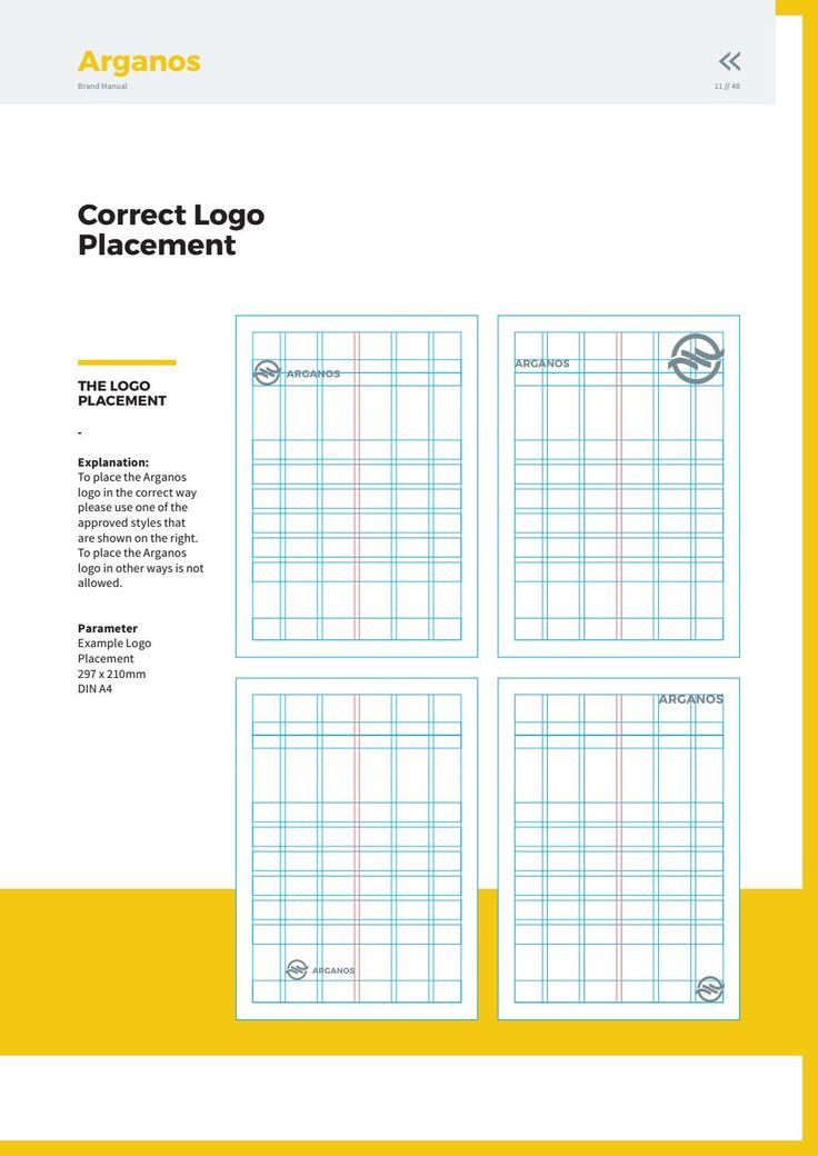 Фирменный бланк - место размещения лого