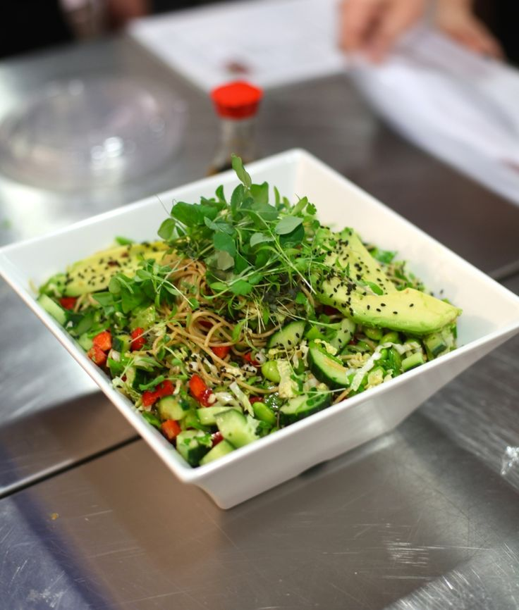 NITK Gets Cooking With Catelli & Chef Lynn Crawford // Chilled Noodle Salad with Ginger Wasabi Dressing