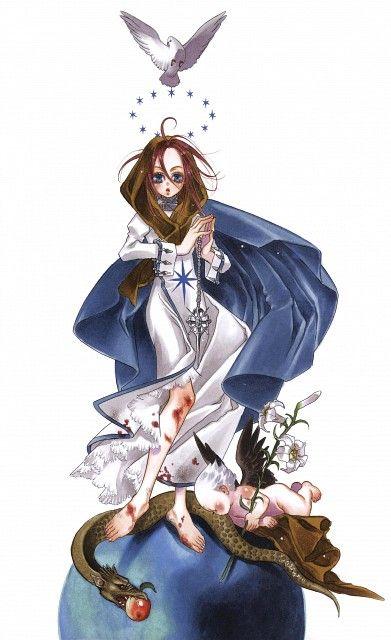 Kiyo Kyujyo, Gonzo, Trinity Blood, Rubor, Esther Blanchett