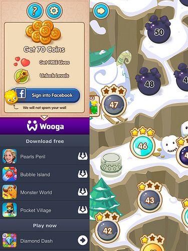 Login UI mobile games