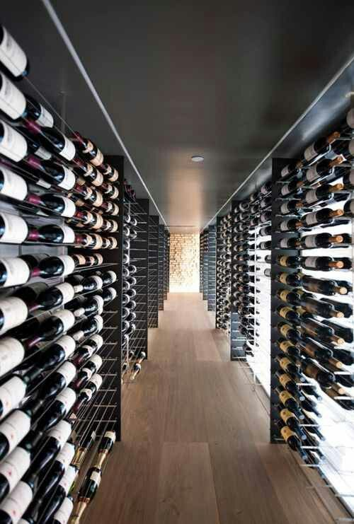 That's a wine cellar!