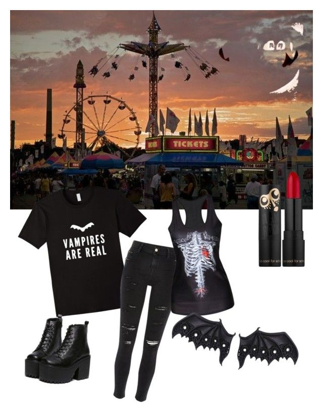 """""""vamps are real"""" by kayearnold on Polyvore featuring River Island"""