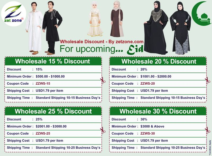 For upcoming... Eid | Wholesale Discount - By zetzone.com  Plz Visit our site - ...