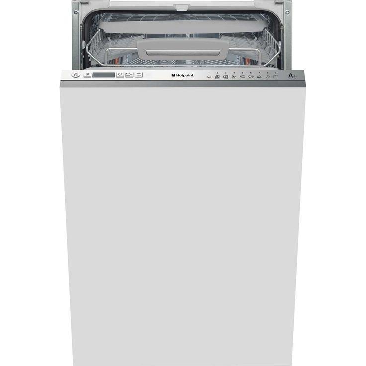 LSTF9H126CL_SS | Hotpoint slimline dishwasher | ao.com