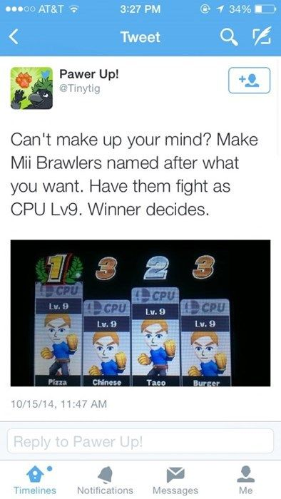 How to Use Super Smash Bros. to Make Difficult Decisions