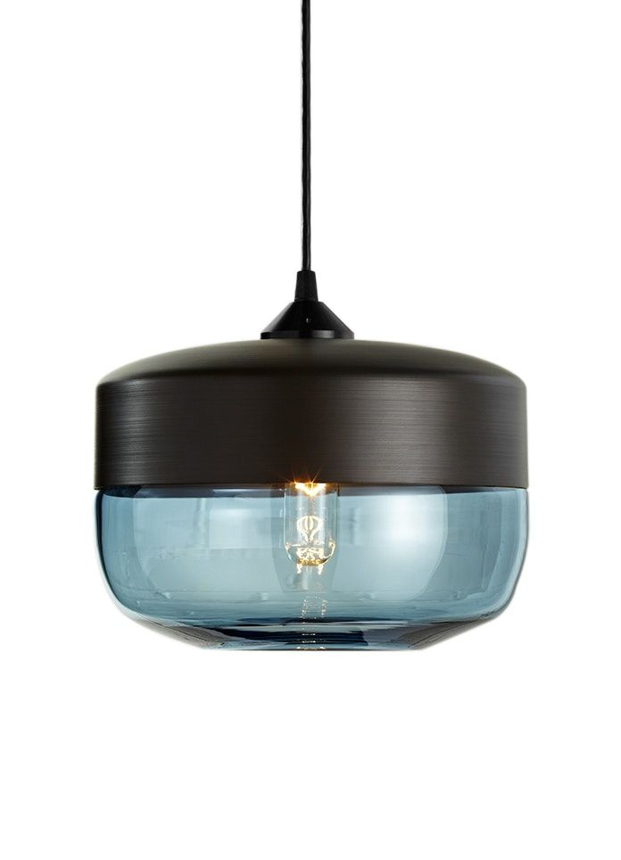Buy Parallel Series Wide Cylinder by Hennepin Made - Made-to-Order designer Pendants from Dering Hall's collection of Contemporary Rustic / Folk Industrial Transitional Lighting.