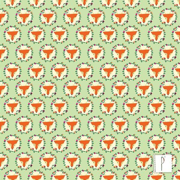 15730ad990caf3 Raposa Guirlanda | Estampas | Animais | Panólatras | Guirlandas ...