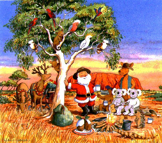 Image result for australian christmas images
