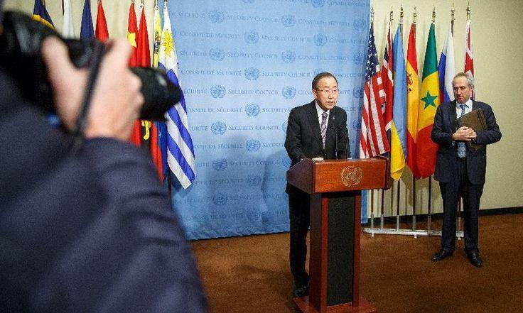 ONU: Ban Ki-moon condamne ''sans équivoque'' l'essai nucléaire annoncé par Pyongyang - http://www.camerpost.com/onu-ban-ki-moon-condamne-sans-equivoque-lessai-nucleaire-annonce-par-pyongyang/?utm_source=PN&utm_medium=CAMER+POST&utm_campaign=SNAP%2Bfrom%2BCAMERPOST