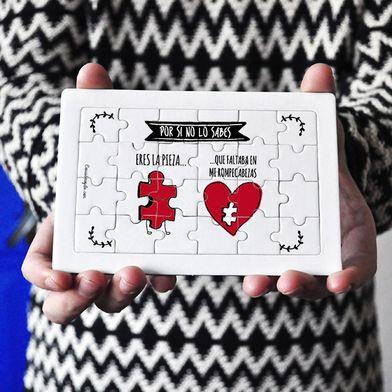Detalles Categorias Puzzles Puzzle cartón 24 piezas Eres la pieza-