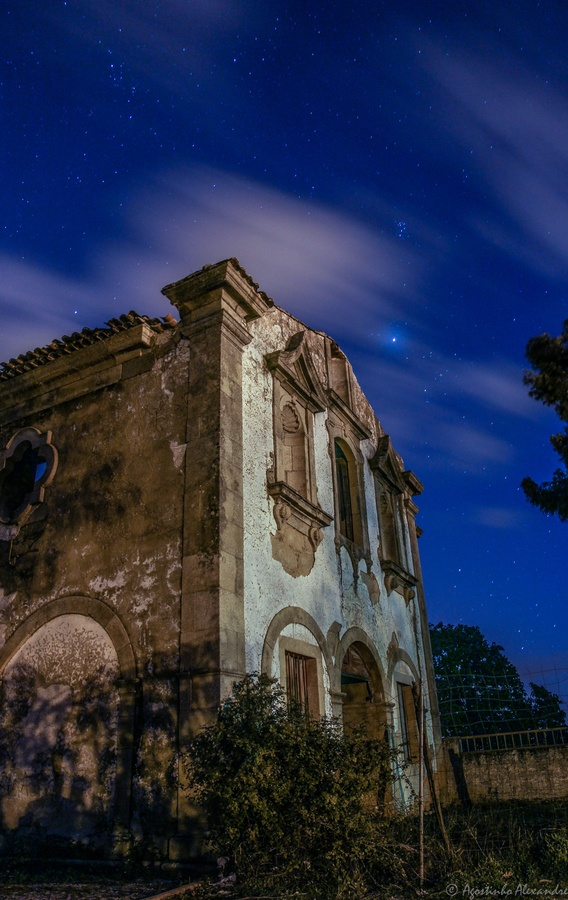 Abandoned convent in Fundão, Portugal.