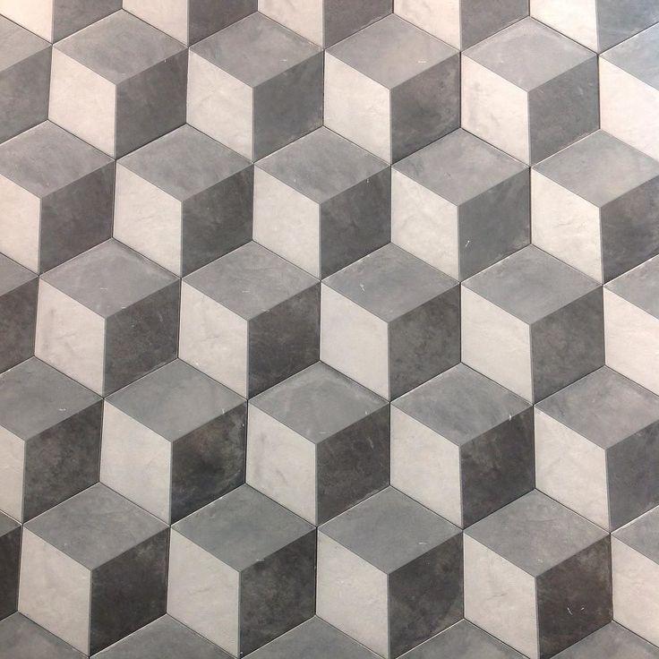 #cubes #hex #hexagon #wall #floor #grey #