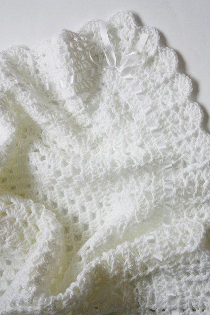 Crochet Pattern For Christening Blanket : 78 Best images about crochet afghans on Pinterest ...