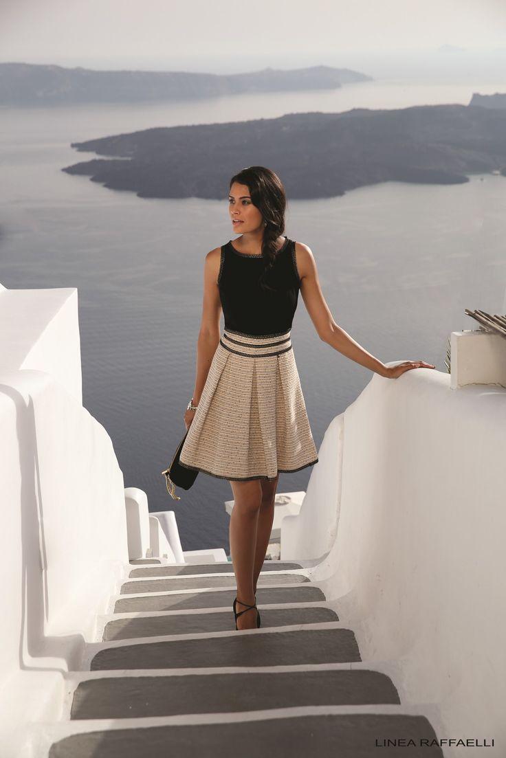 Avond- en cocktailcollectie Santorini van Linea Raffaelli, te verkrijgen bij Koonings The Wedding Palace. #linea #raffaelli #avondmode #avondkleding #cocktailmode #cocktailcollectie #feestkleding #partycollection