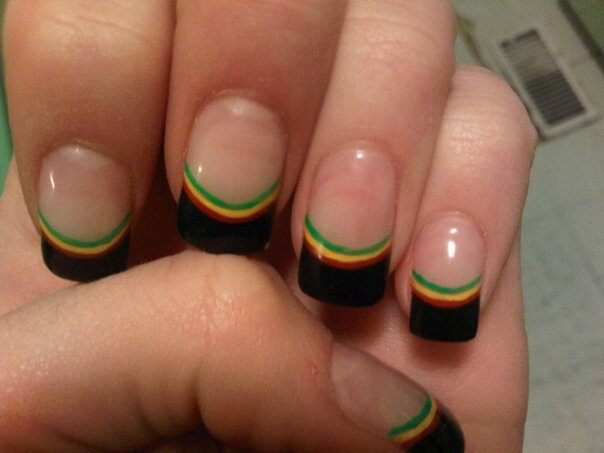 Rasta Nails In 2018 Pinterest And Nail Art