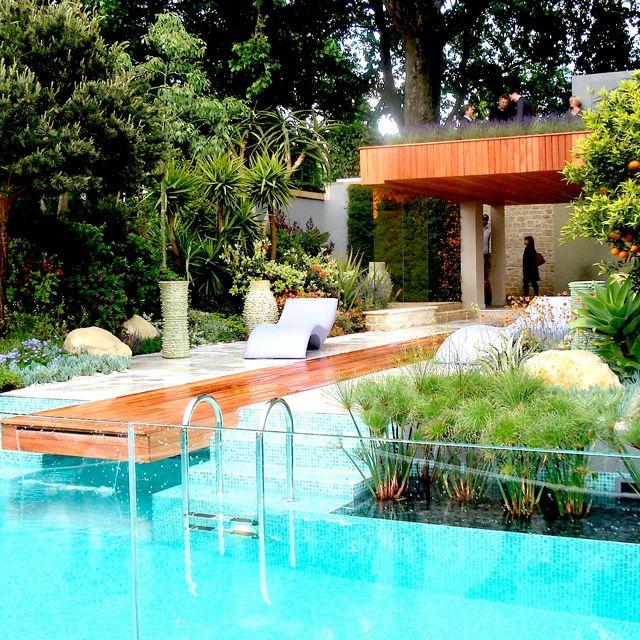 76 best garden of monaco images on pinterest monaco for Pool design france