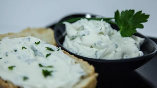 Il formaggio spalmabile fatto in casa.