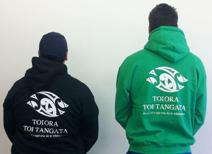 Toiora Toi Tangata Hoodies - check out our mean hoodies, super warm, super flash, super message !