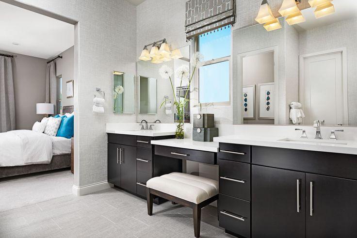 Is vanity seating on your master-bath wish list? | Arabelle model home | Las Vegas, Nevada | Richmond American Homes