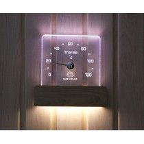 Led sauna lämpömittari