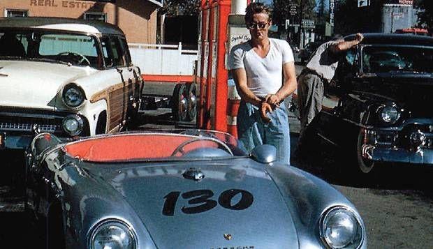 Mito. Carros sempre foram a paixão (mortífera) de James http://acervo.oglobo.globo.com/fatos-historicos/james-dean-morre-em-acidente-de-carro-na-california-aos-24-anos-vira-mito-10390296 JAMES DEAN