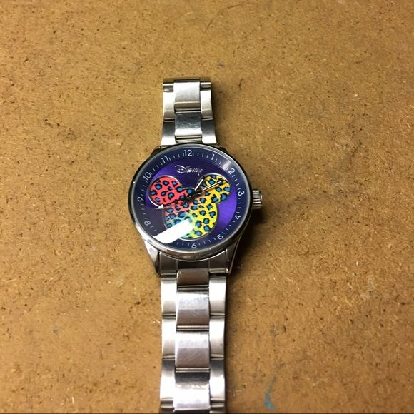 Great condition Mickey watch Colorful Mickey watch has Disney seal Disney Accessories Watches