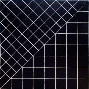 Grid // moonish plywood tiles