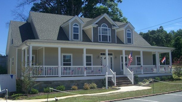 15 best images about homes with porches on pinterest for Modular homes with wrap around porch
