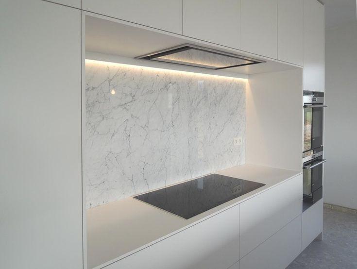 Meer dan 1000 idee n over keuken interieur op pinterest - Keuken wit marmer ...