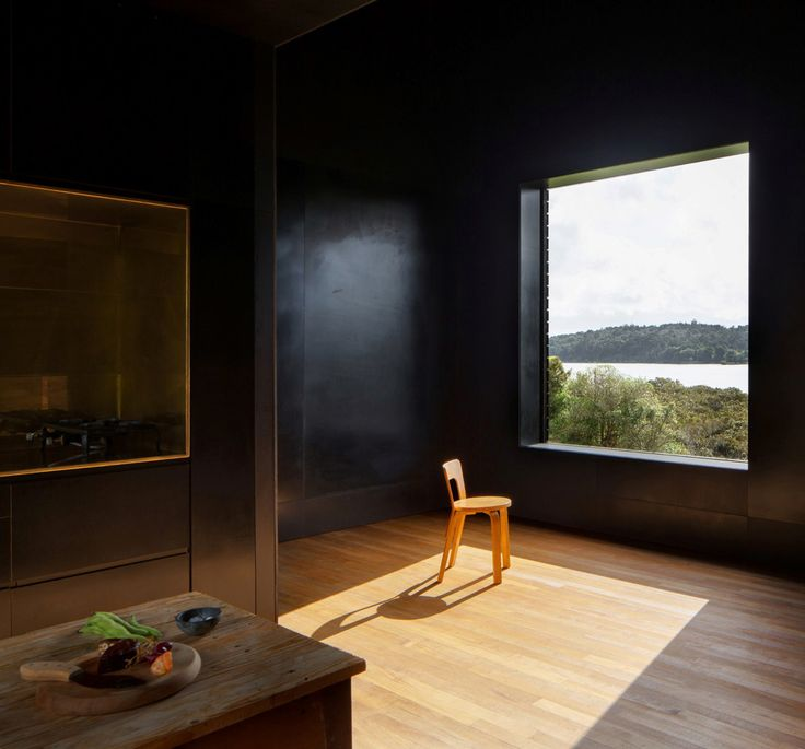 Superb simplicity love Eyrie two holiday homes New Zealand Cheshire Architects Inspirational Interiors Pinterest Holiday Home and Love