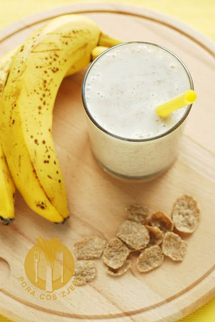 Banana cocktail / Koktajl bananowy