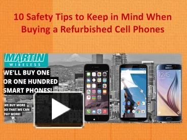 At Martin Wireless LLC, we have an excellent facility for repair and refurbishing of electronic devices like Smartphones, Tablets and others. You can buy refurbished cell phones at lucrative prices without worrying about their performance or quality. We stock a huge range of used and refurbished cell phones for you! Just give us a call at 866-996-9552.
