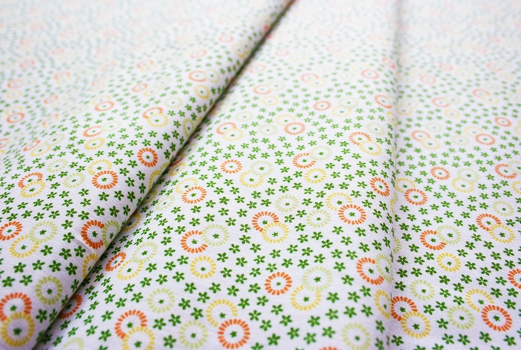 Fabric Finders #409 SC Green Floral