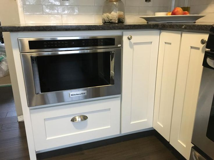 kitchenaid microwave drawer installation