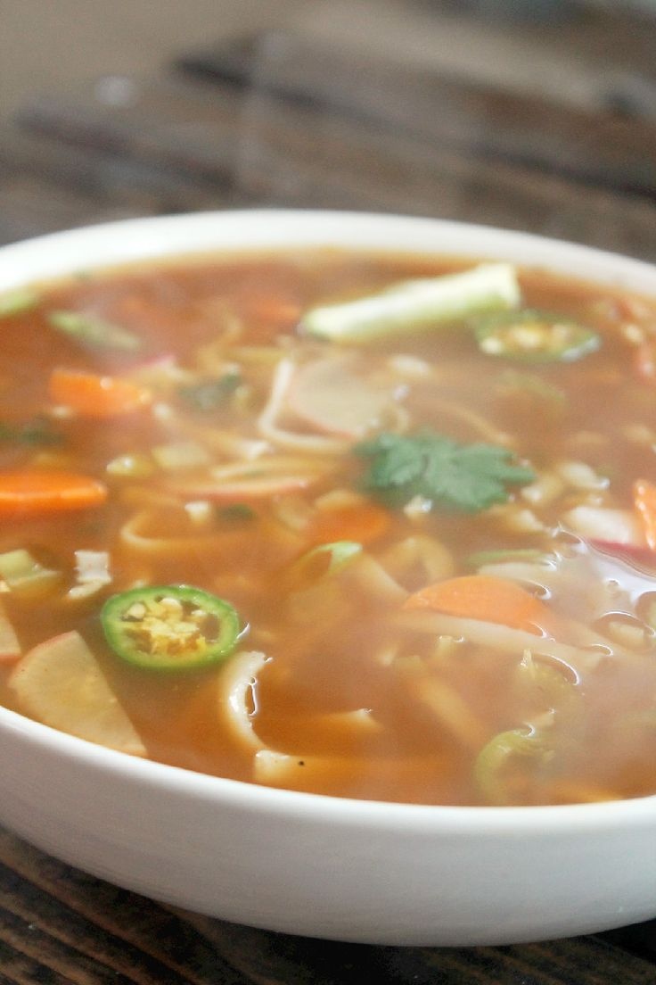 Not quite a vegan? Fat Burning Spicy Thai Noodle Soup..perfect way to kick start that healthy diet