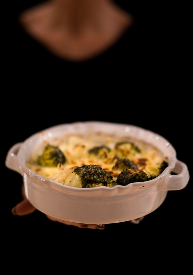 Fänkål och broccoligratäng LCHF recept