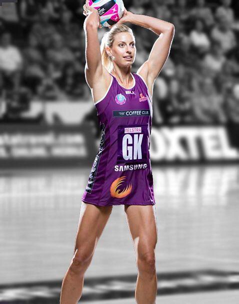 Team captain laura geitz