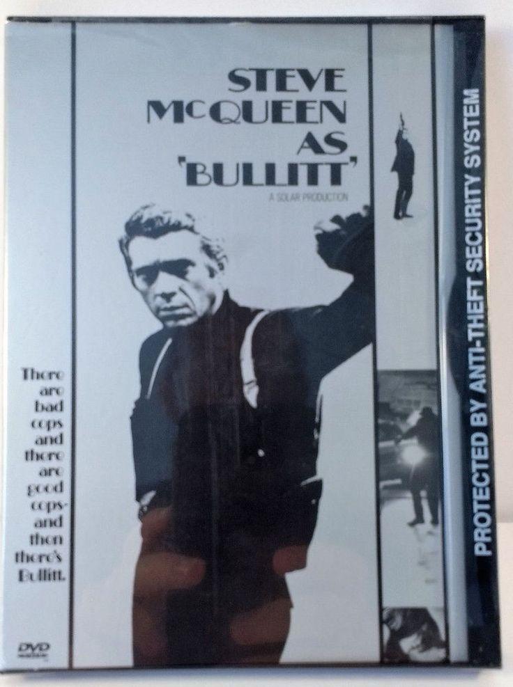 BULLITT SNAPCASE DVD (1996) - STEVE MCQUEEN, ROBERT VAUGHN, DON GORDON