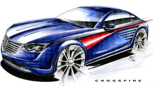 chrysler crossfire rendering