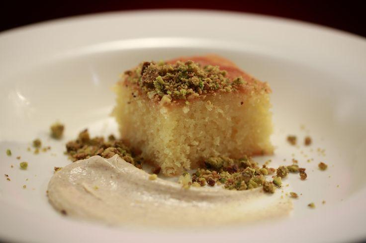 Helena and Vikki's Orange and Clove Semolina Cake with Spiced Mascarpone from season 5 of My Kitchen Rules: http://gustotv.com/recipes/dessert/orange-clove-semolina-cake-spiced-mascarpone/
