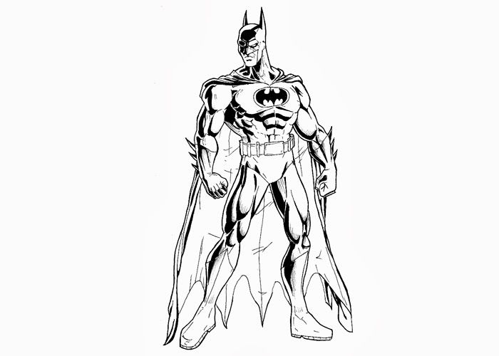 Batman Black Knight Coloring Pages 753459 700x