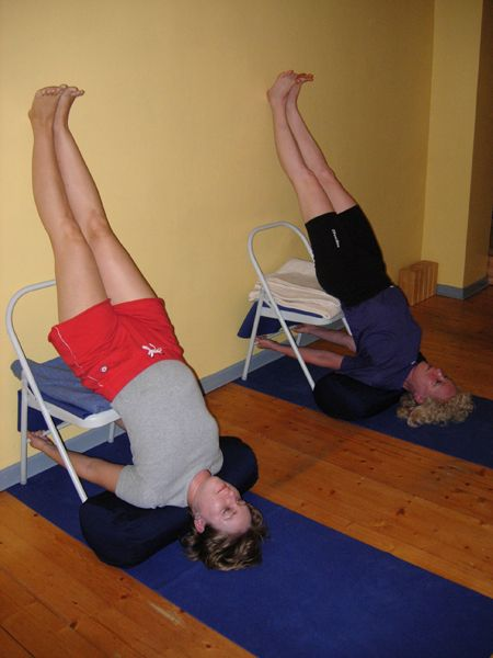 On today's yoga agenda? Iyengar! #Yoga #Iyengar