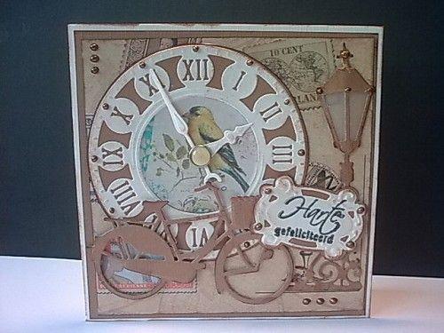 Clock card